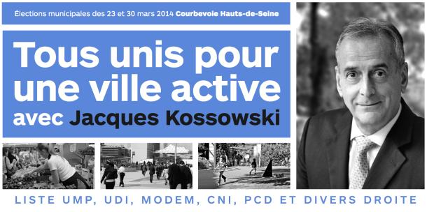 Tous unis pour une ville active avec Jacques Kossowski