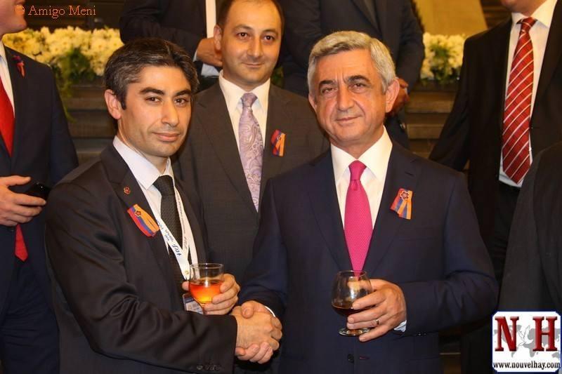 Jean-Jacques Saradjian présent lors de la cinquième conférence Arménie-Diaspora avec 1050 représentants venus de 60 pays