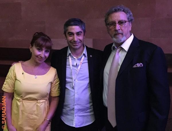 Ariane Ascaride, Jean-Jacques Saradjian et Robert Guediguian