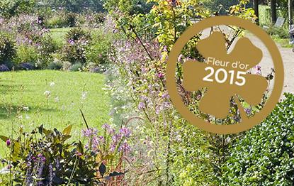 Courbevoie obtient la Fleur d'or 2015