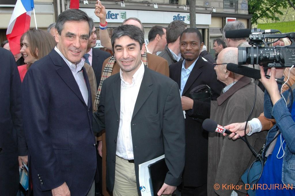 François Fillon et Jean-Jacques Saradjian