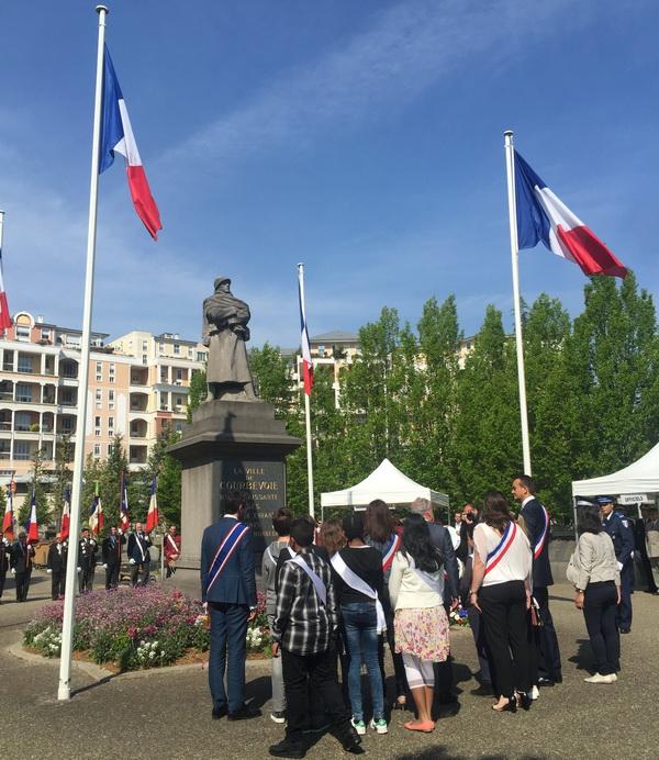 Commémoration au cimetière Cloarec de Courbevoie