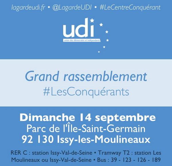 Jean-christophe LAGARDE : Grand rassemblement des Conquérants !
