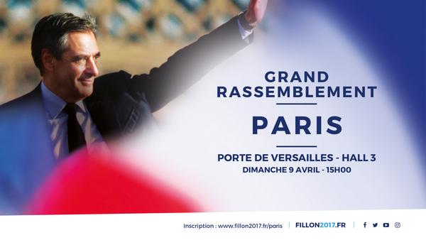 Grand rassemblement dimanche 9 avril à la porte de Versailles à 15h00 !