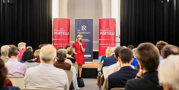 Florence Portelli: Ne nous excusons pas d'être de droite !