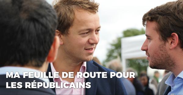 Maël de Calan: Ma feuille de route pour Les Républicains