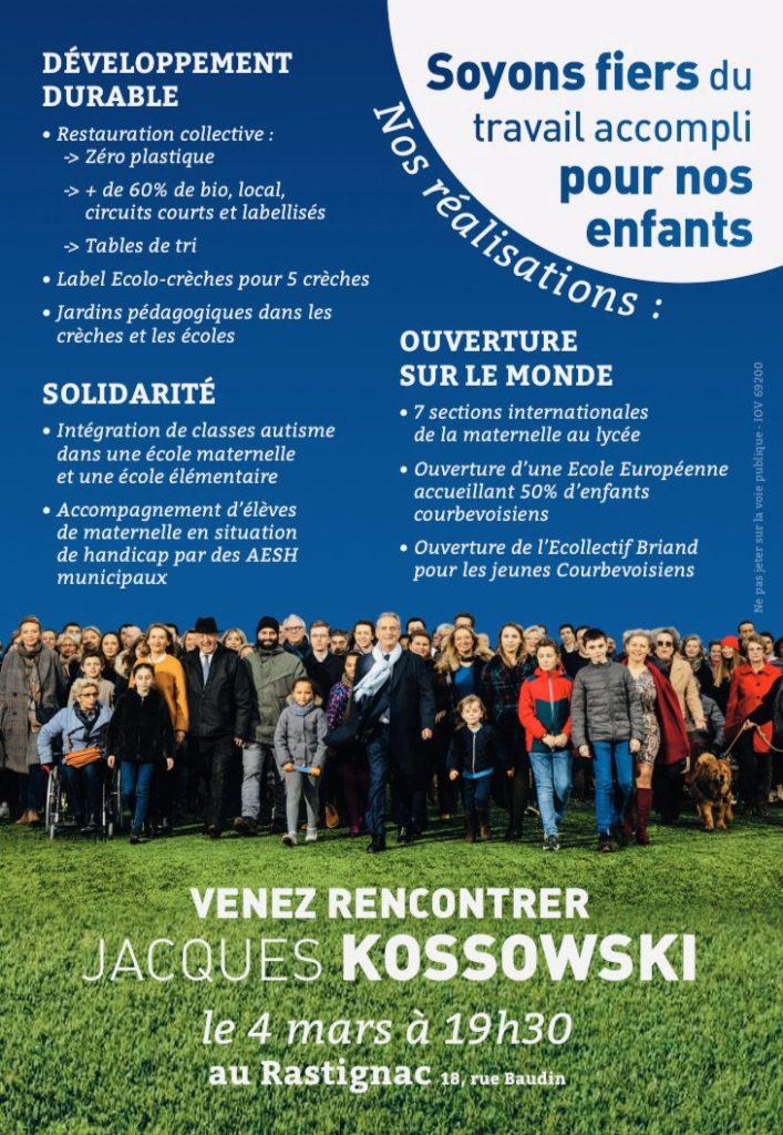 Rencontre au Rastignac ce 04 mars