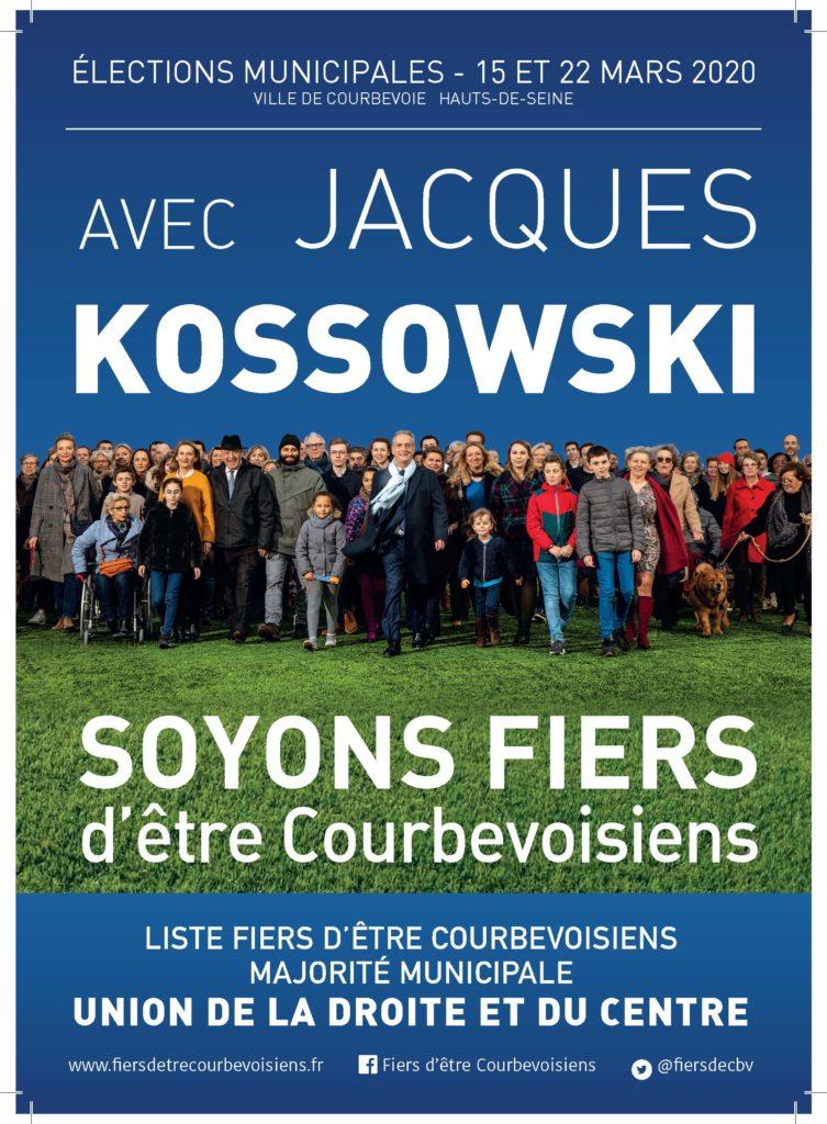 Avec Jacques KOSSOWSKI, Soyons Fiers d'Être Courbevoisiens