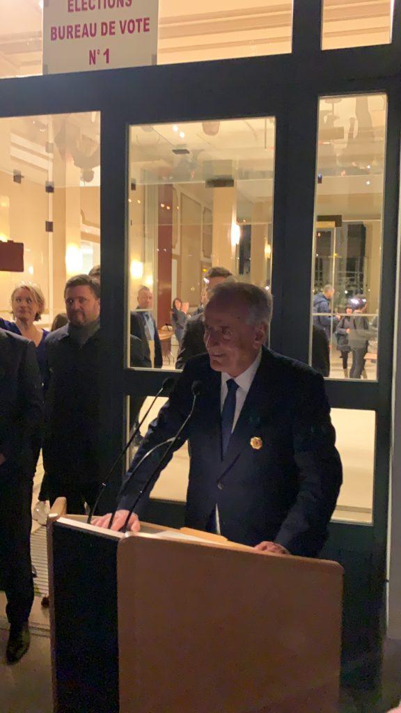 Jacques Kossowski - Résultats des élections municipales à Courbevoie au premier tour