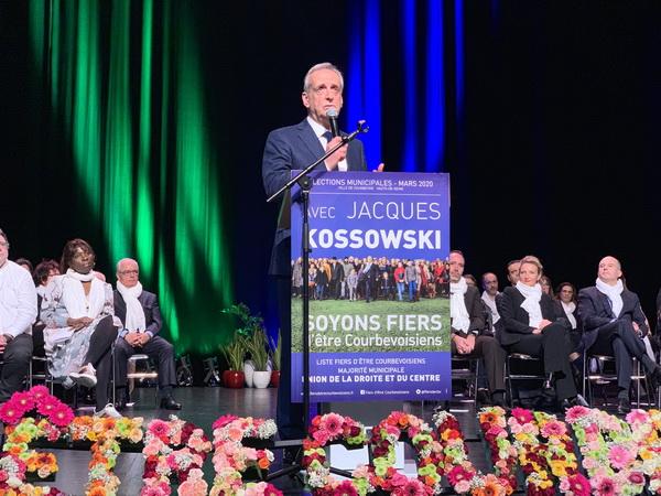 Grand Meeting de Campagne du 12 mars 2020 de Jacques Kossowski