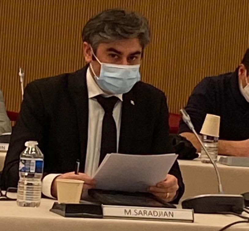 Officialisation de Courbevoie d'une aide humanitaire d'urgence en faveur de l'Arménie