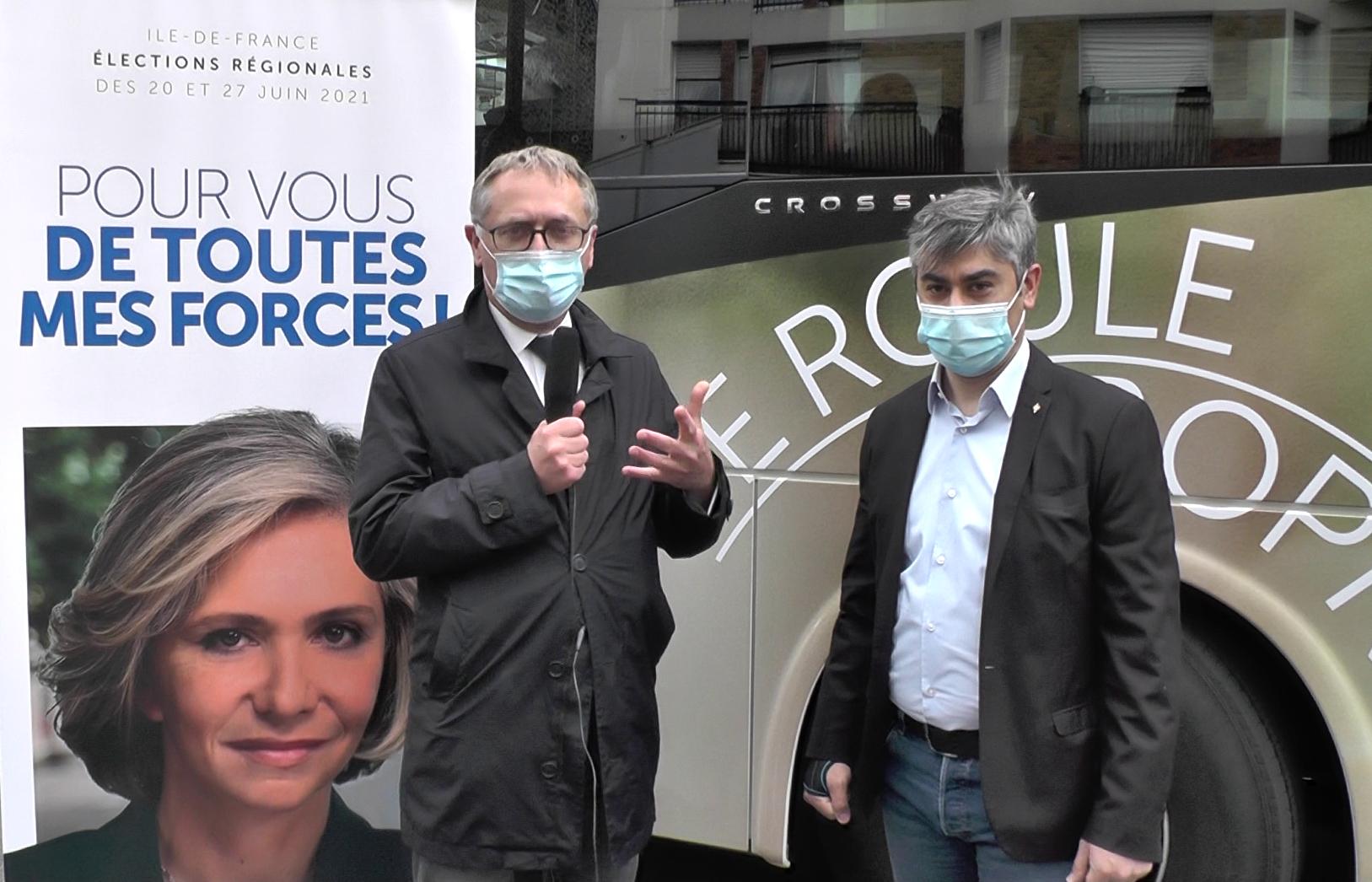 Entretien avec Philippe Juvin à Courbevoie ce mercredi 26 mai 2021