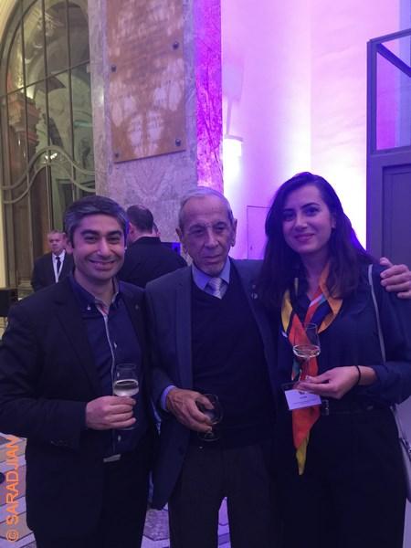 Grand succès pour la réception au Petit Palais à l'occasion de la Fête Nationale de la République d'Arménie